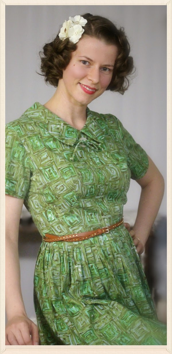 Early 1960s Day Outfit on ChatterBlossom #1960 #1950 #fashion #womens
