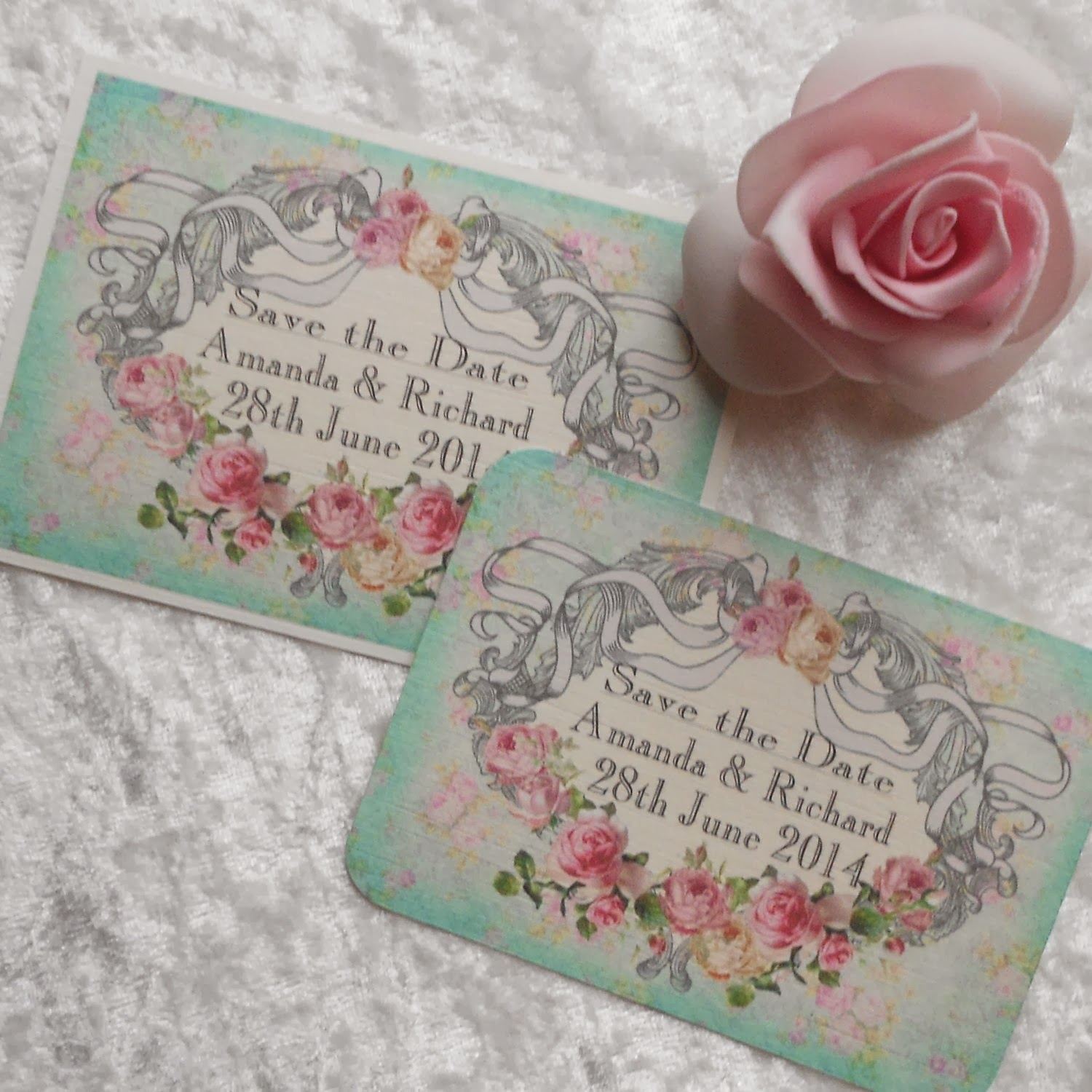 more chic than shabby free samples of save the date cards many