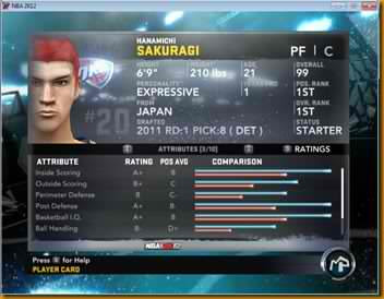hanamichi sakuragi nba2k12 patch