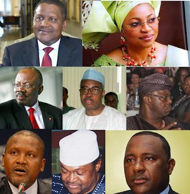 Aliko Dangote, Folorunsho Alaika Africa's Richest Billionaires from Nigeria