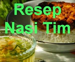 Resep Nasi Tim Enak