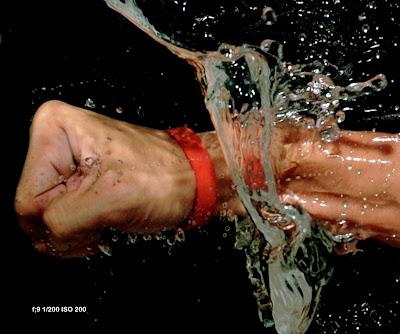 tips memotret buah, splash, drop photo, memotret produk, memotret buah dalam air