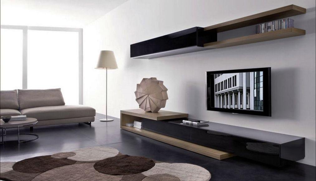 اجمل التصاميم لطاولات تلفزيون بلازما ديكور غرف