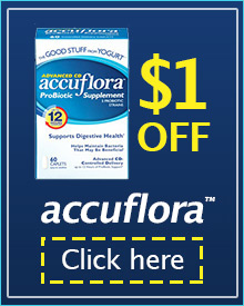 accuflora coupon