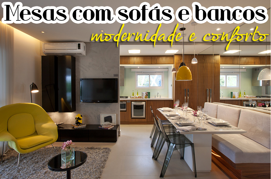 Banco Baú Sala De Jantar ~  sala de jantar!  Decor Salteado  Blog de Decoração e Arquitetura