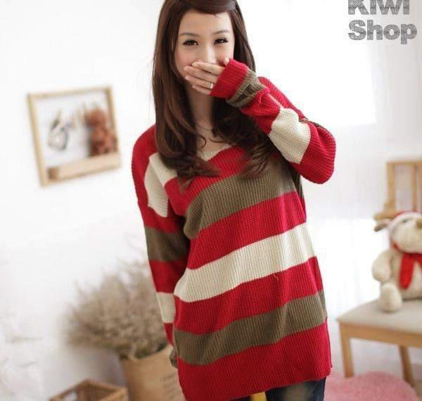 Model Baju Rajut Wanita Korea Import