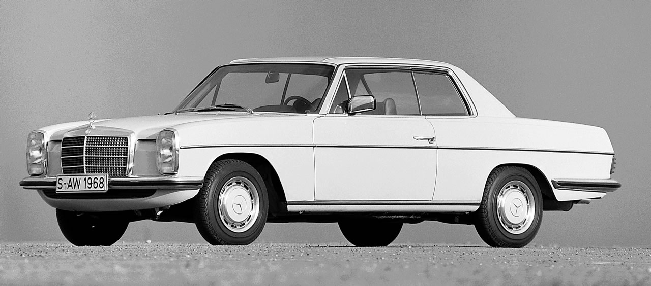 best cars ever greatest cars of all time mercedes benz w114 w115 minika. Black Bedroom Furniture Sets. Home Design Ideas
