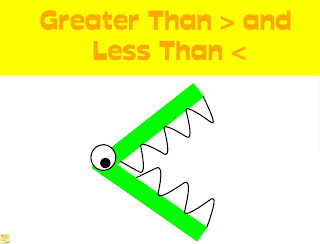 Greater Than Less Than Freebie - Little Priorities