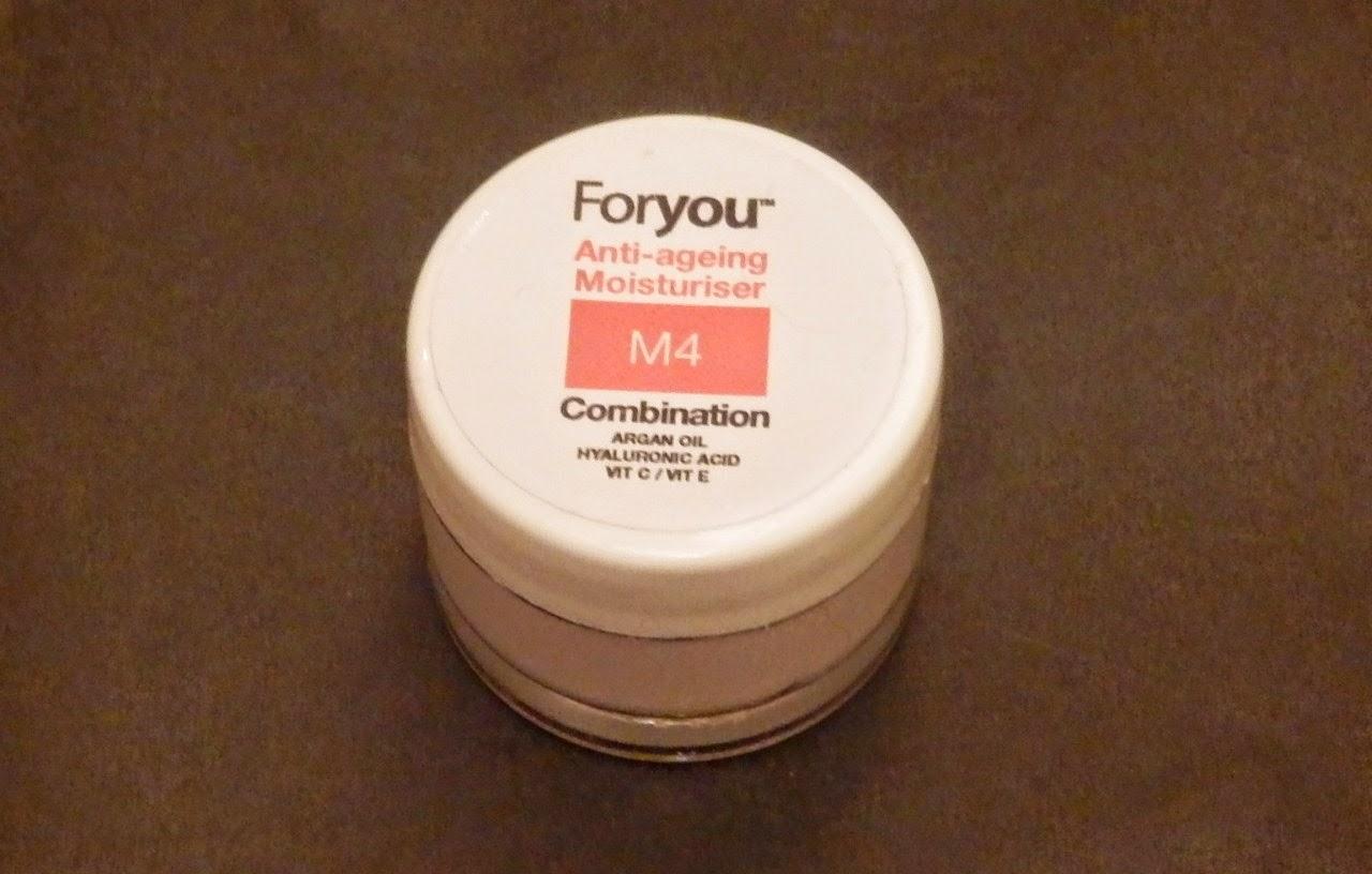 Foryou Skincare M4 Anti-ageing Moisturiser Review