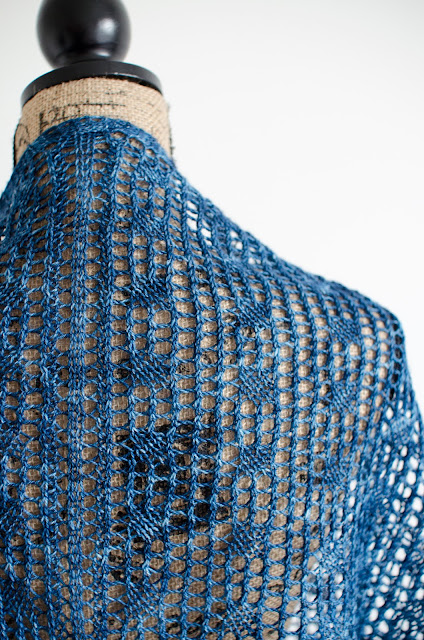 Sidereal shawl pattern on Ravelry