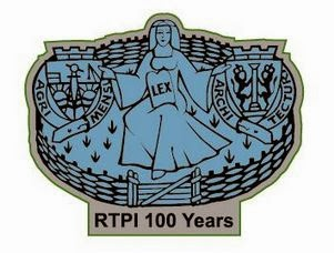 The RTPI Centenary Lapel Badge