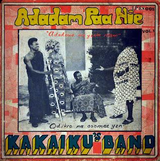 Kakaiku's Band - Adadam Paa Nie,Ambassador