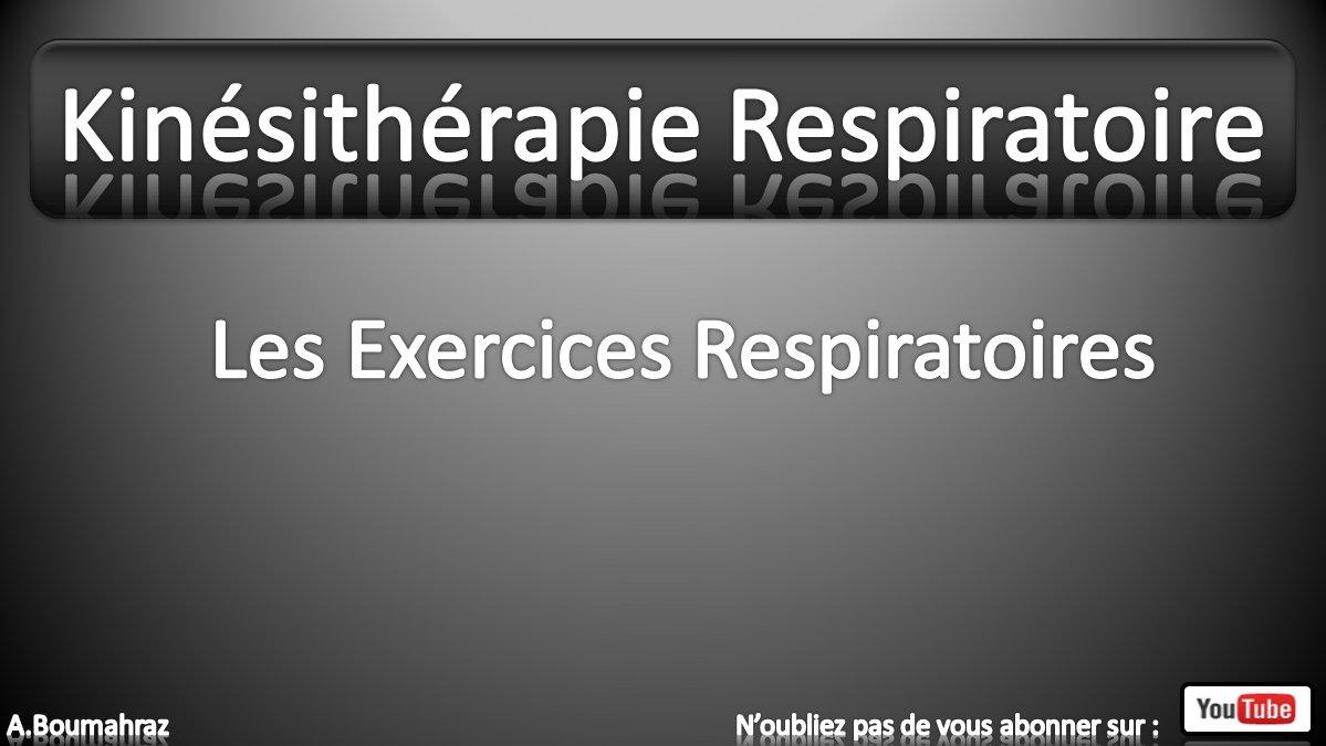 Kinesitherapie Respiratoire 5 Les Exercices Respiratoires