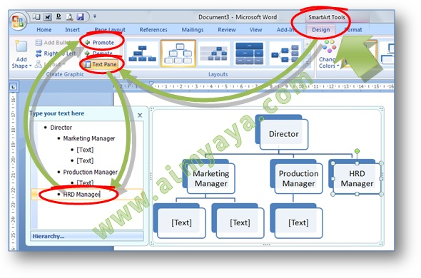 Cara membuat diagram di ms word 2007 download wiring diagrams cara mengedit jabatan unit struktur organisasi smart art microsoft rh cara aimyaya com cara membuat diagram batang di ms word 2007 cara membuat diagram di ccuart Images