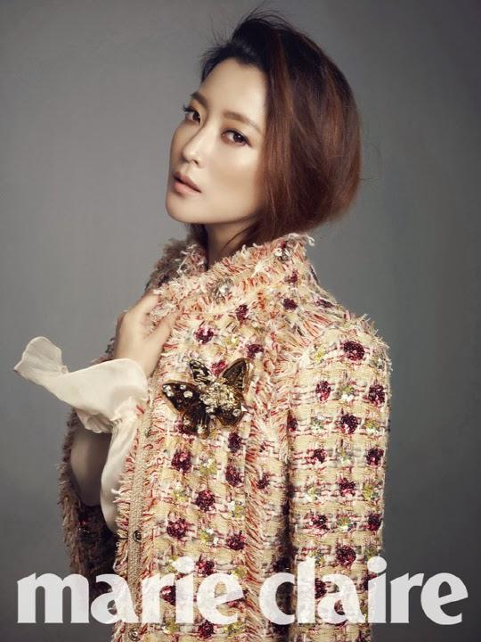 Kim Hee Sun - Marie Claire February 2014