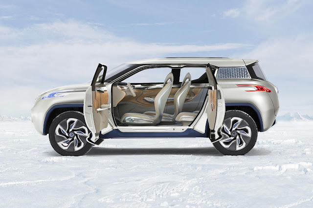 Nissan TeRRA SUV Concept 2012 side