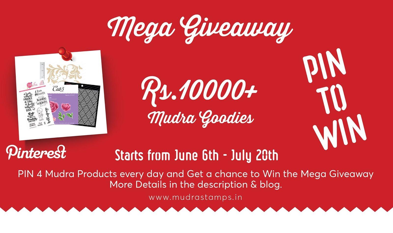 Mudra Mega giveaway