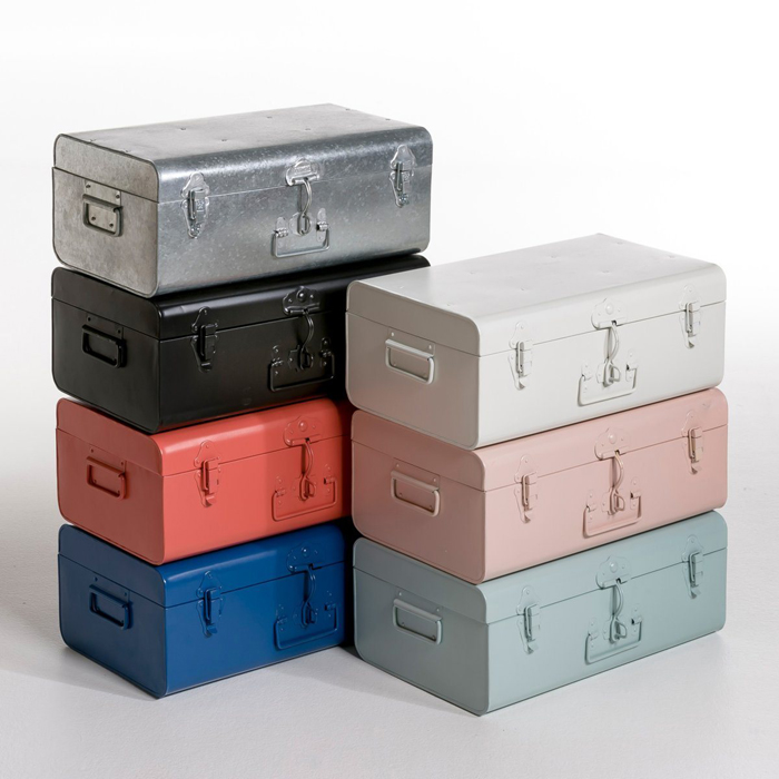 metal trunks for kids' room from AM-PM