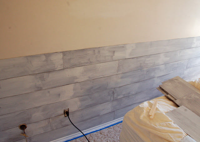 Hardboard Panel For Painting ~ Take the side street diy masonite faux paneled wall