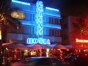 Um dos emblemáticos hotéis de South Beach (miami )