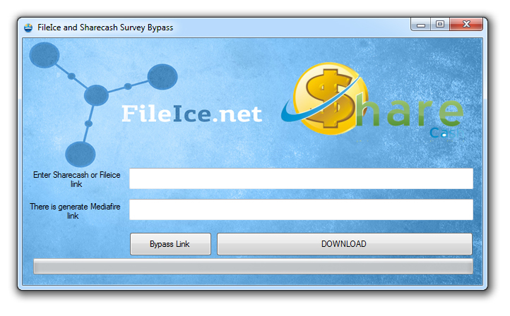 how to bypass surveys to download files inspect