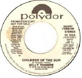 Download Gratis Lagu Billy Thorpe Album Children Of The Sun