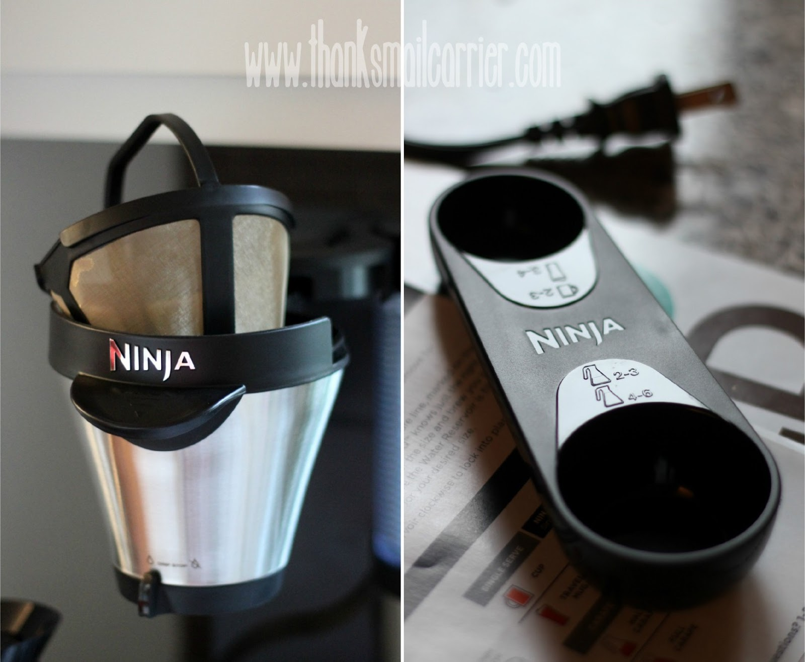 Ninja Coffee Bar filter scoop