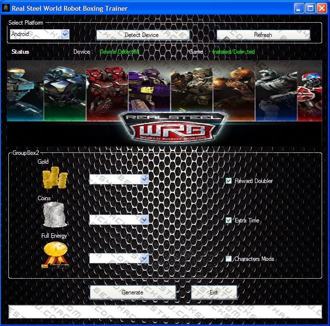 download real steel wrb android hack