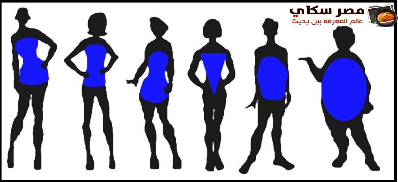 تعرف على الأنواع المختلفة لقوام المرأة