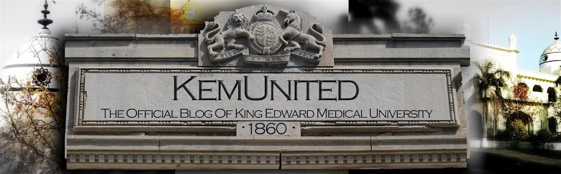 [ KemUnited ] - The official blog of King Edward Medical University.