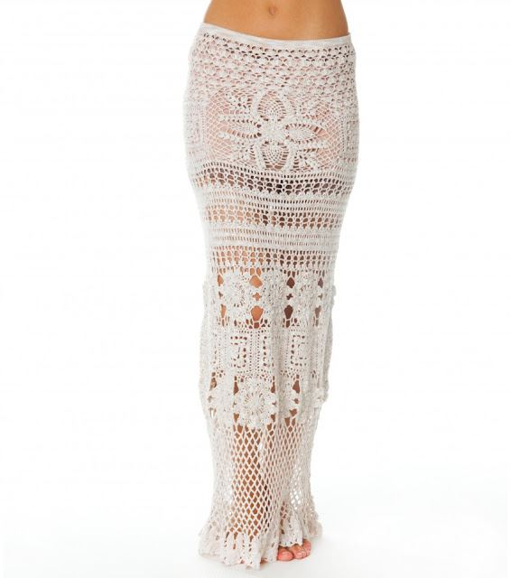 Crochet Clothing : The Crochet Clothing Trend summer 2012