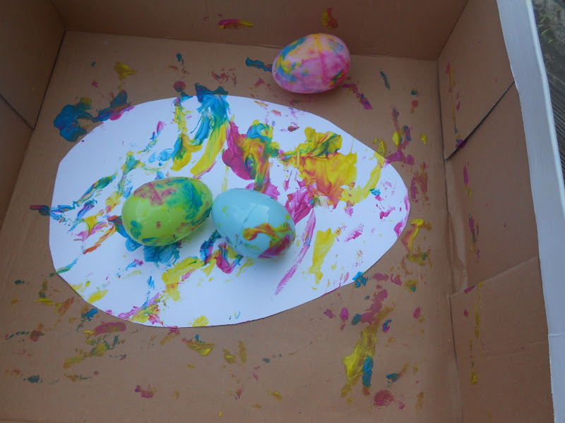 Easter Egg Crafts And Activities Inspired By Jan Bretts The
