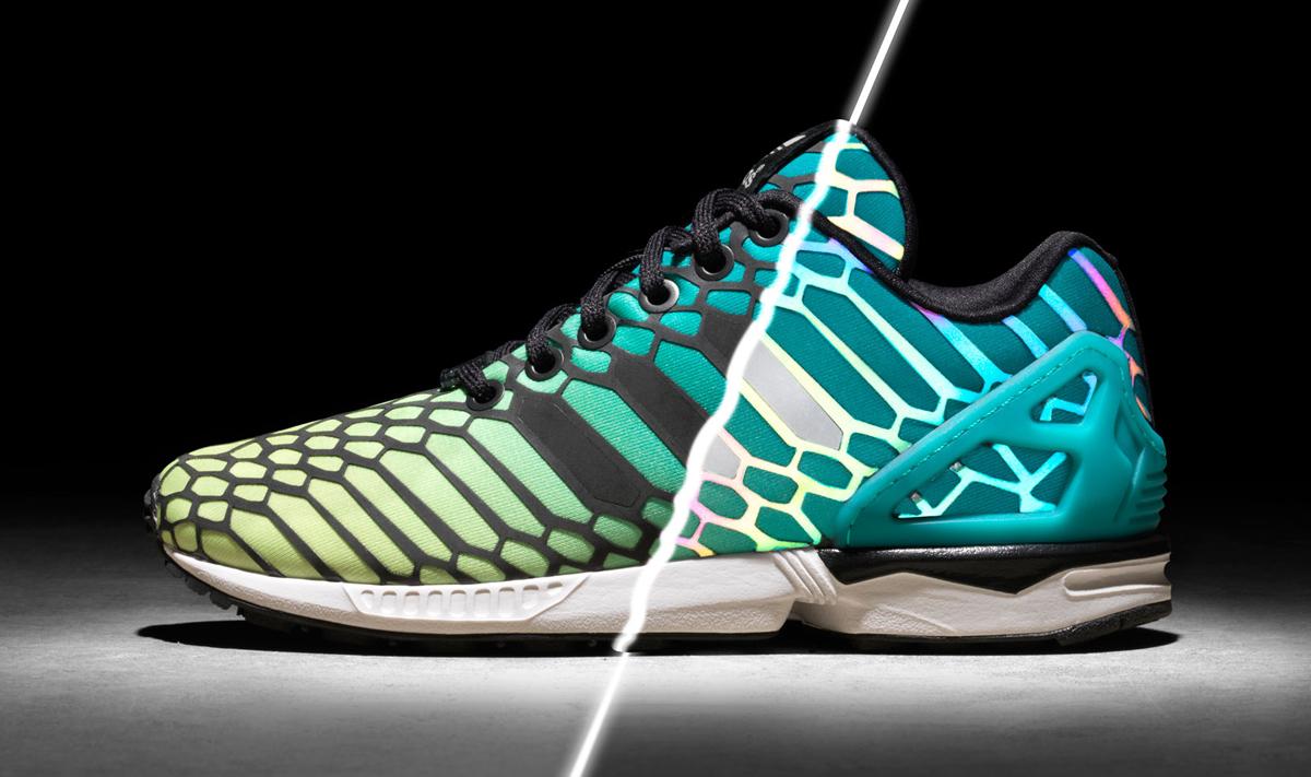 Men's Adidas Originals ZX Flux Sneakers size 9 BB8155 Copper /Gray