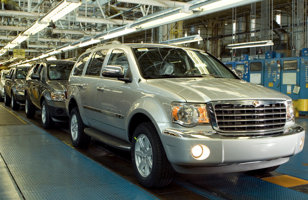 2007 Chrysler ASpen factory