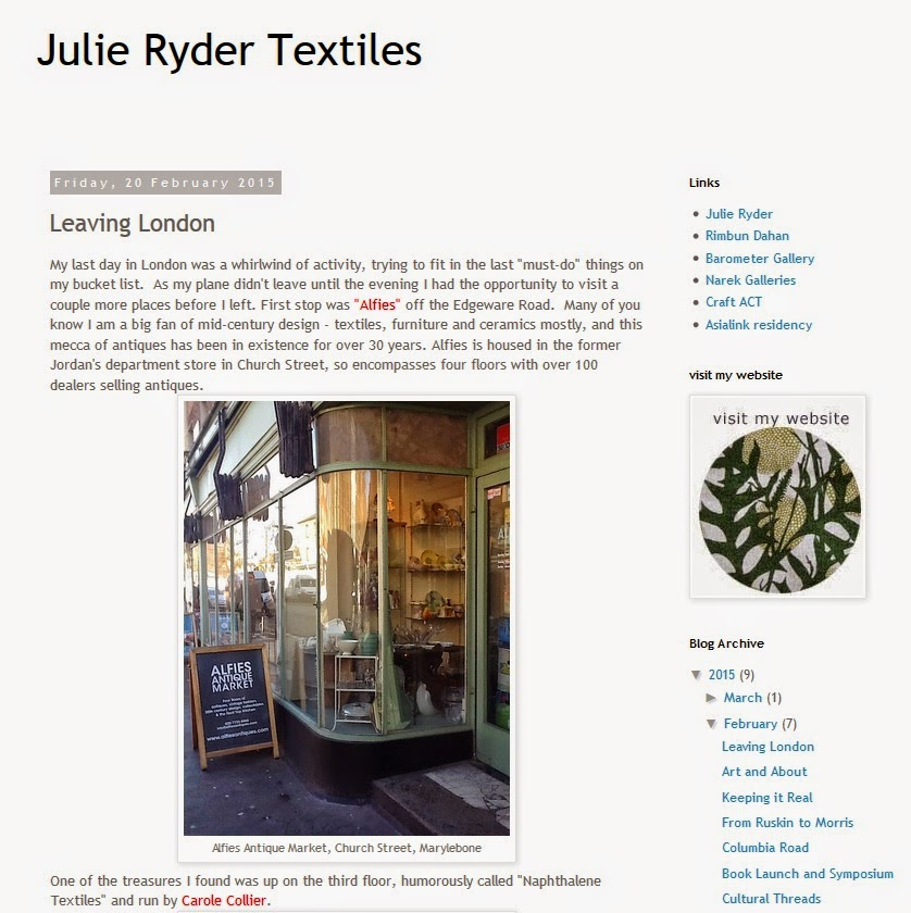 http://julierydertextiles.blogspot.co.uk/2015/02/leaving-london.html