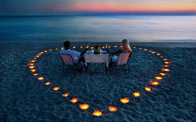la cena más romántica del mundo