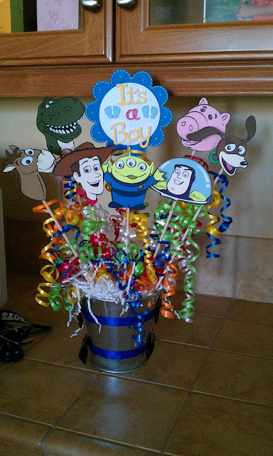 toy story baby shower centerpieces