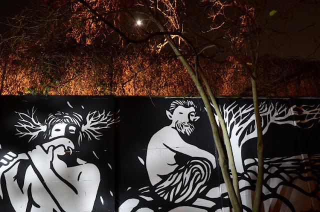 """Panismo"" New Street Art Piece By Italian Artist MP5 In Torino. 7"