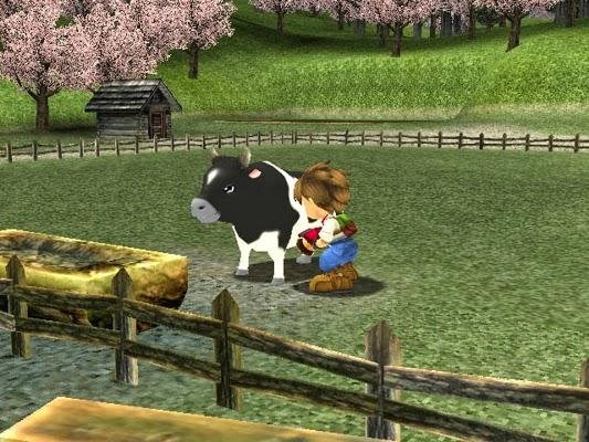 Game Berternak Sapi Di Game Harvest Moon: A Wonderful Life