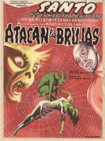 Atacan las brujas (Santo en la casa embrujada) (1964)