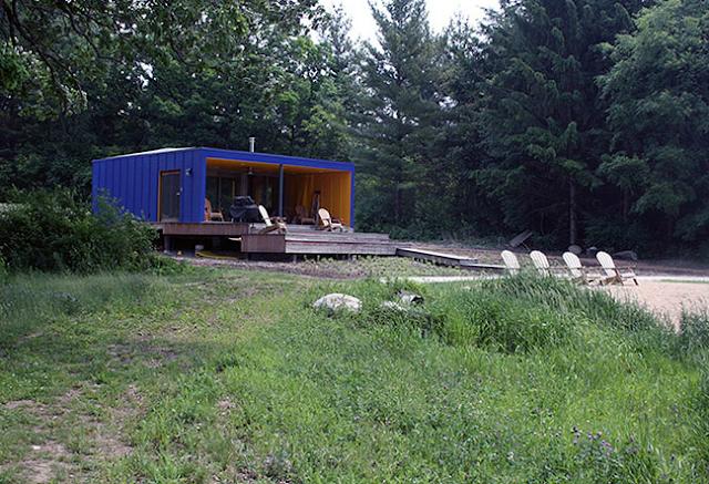 small house near beach