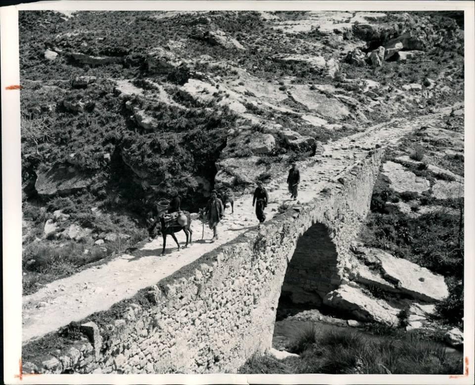Τετράτοξη γέφυρα Αναποδάρη στη Μεσσαρά Ηρακλείου Κρήτης