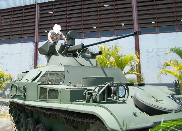 Venezuela-Russia military cooperation: - Page 3 Army_of_Venezuela_to_modernize_French-made_AMX-13_APC_with_Russian-made_turret_MB2-04_640_001