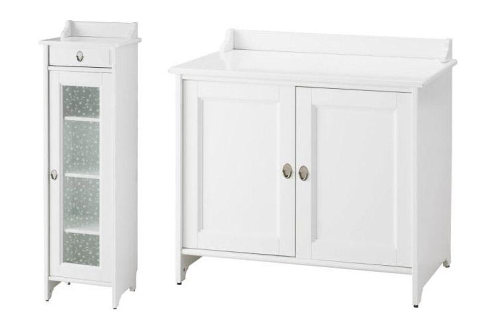 Ikea Hack: Los armarios Flaren del baño de Evilsabeth a ...