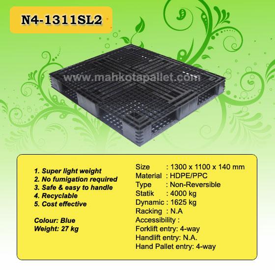 harga palet plastik N4-1311SL2