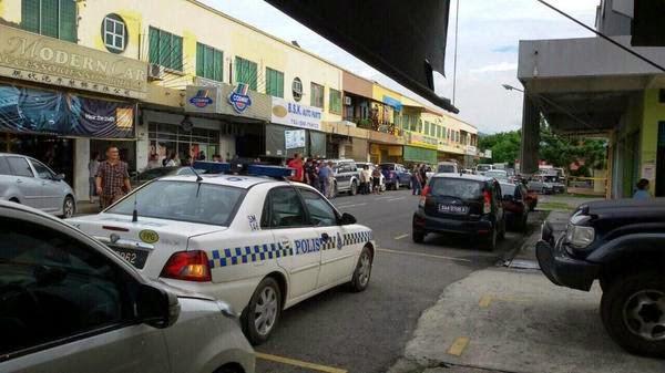Kes Tembak Menembak Di Penampang, Rompakan Bersenjata Di Servay, Penampang Baru, Tembak Menembak Di Survey Penampang Baru, Berita Terkini Kes Tembak Di Penampang Sabah 30 Oktober 2014