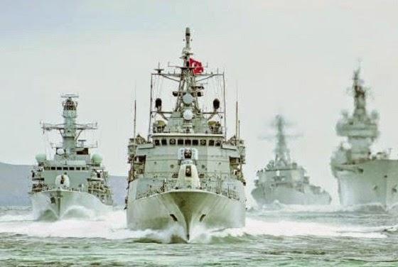 Angkatan laut Turki (ilustrasi)