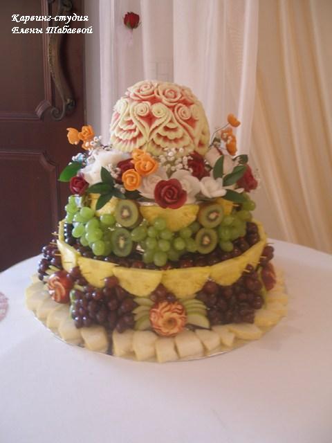 южно-сахалинск оформление свадеб фруктовыми карвинг композициями