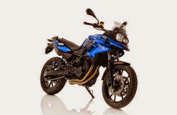 BMW F 700 GS Racing Blue Metallic Matt