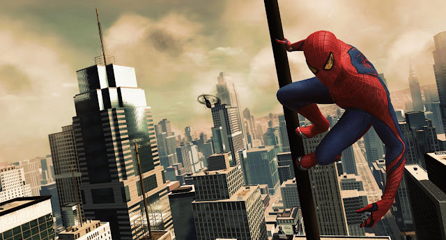 Screenshot of video game The Amazing Spider-Man